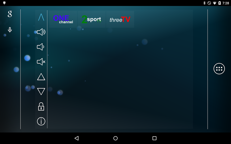 Smart TV Remote Tab- screenshot