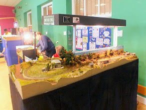 Photo: 019 Moving back into the main hall, the first layout spotted was Wood End, another award winning layout, originally built by Chris Ford and Nigel Hill and won them the first Reinier Hendriksen Trophy that was awarded at ExpoNG in 2000. The layout is now owned by Steve Penn and it was good to see this excellent little layout still in very good form .