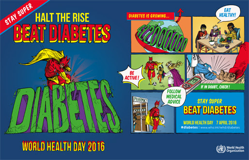 Beat Diabetes WHO call to action