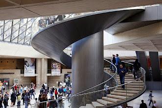 Photo: The Louvre Lobby Paris