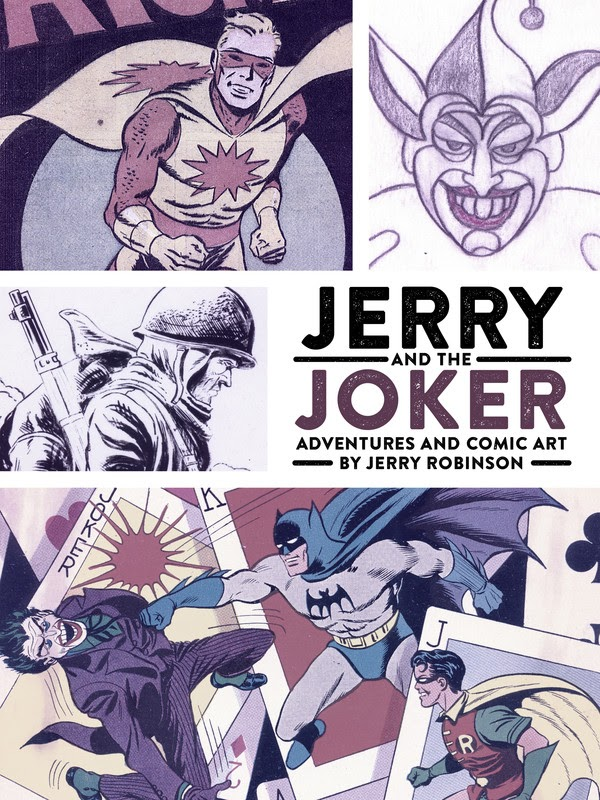 Jerry and the Joker: Adventures and Comic Art (2017)