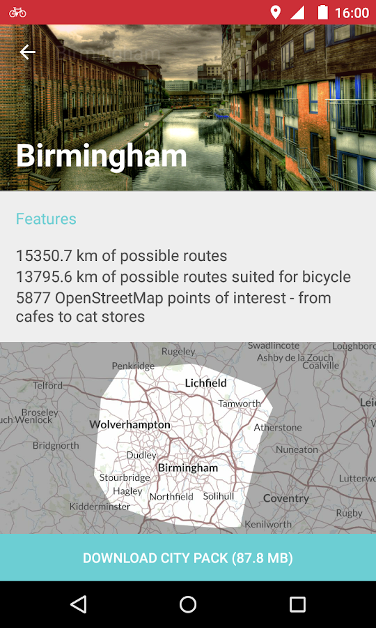 Bike Citizens - Bicycle GPS- screenshot
