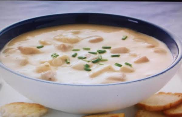 Creamy Tater Soup With Turkey Recipe