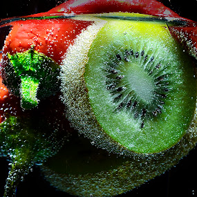 chili & kiwi by Angelo Jadulco - Food & Drink Fruits & Vegetables ( chili. kiwi )