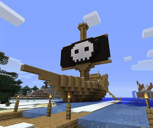 Pirate Ship Ideas Minecraft