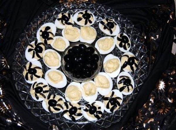 Deviled Spider Eggs Recipe