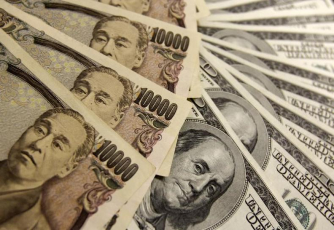 The dollar is rising against the yen, along with optimism about the global economy