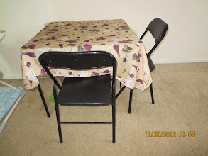 Photo: Square Table - $15