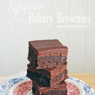 Refrigerator Bakery Brownies