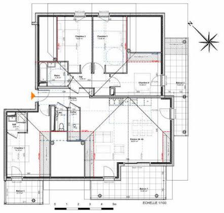 Vente appartement 5 pièces 113,79 m2