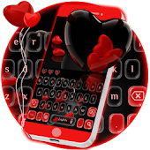 Scarlet Hearts Keypad Theme