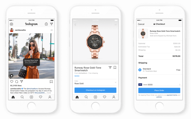 Instagram is making it possible to shop directly within the platform.