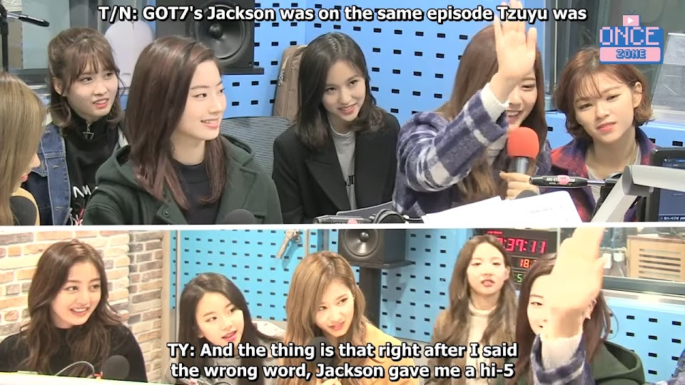 FULL ENG SUB 171110 SBS Power FM 'Choi hwajung's Powertime' with TWICE 30-54 screenshot