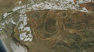 Vista de las instalaciones en Níjar