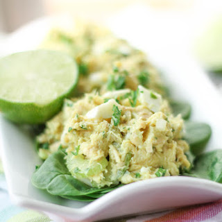 Protein Packed Tuna Avocado Salad - Gluten Free, Paleo