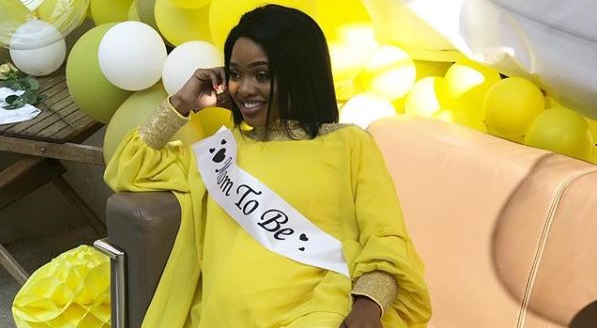 Ntombi Ngcobo-Mzolo had a baby shower over the weekend.