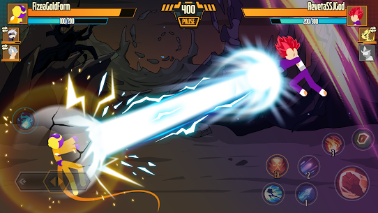 Stickman Dragon Fight Mod Apk 1.1.4 (High Defense) 2