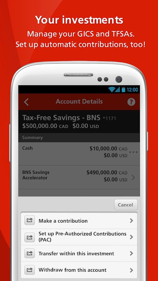 Scotiabank Mobile Banking- screenshot
