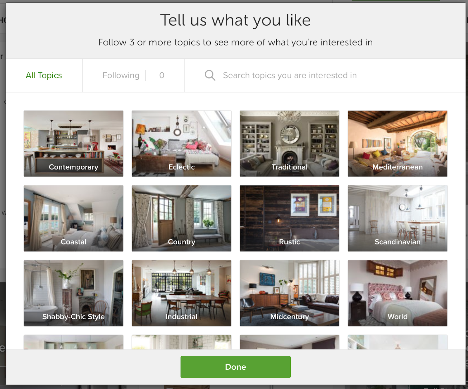 create your home with Houzz