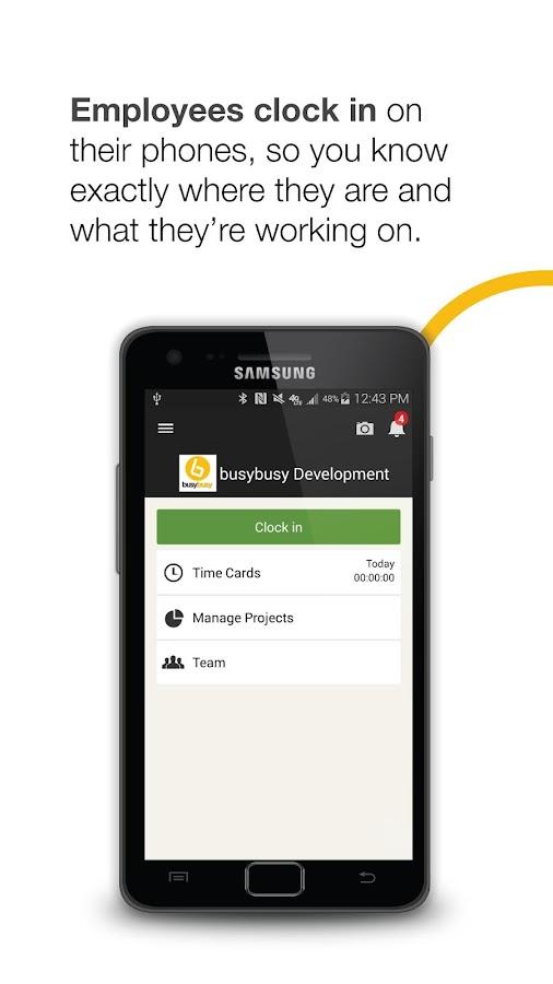 busybusy - screenshot