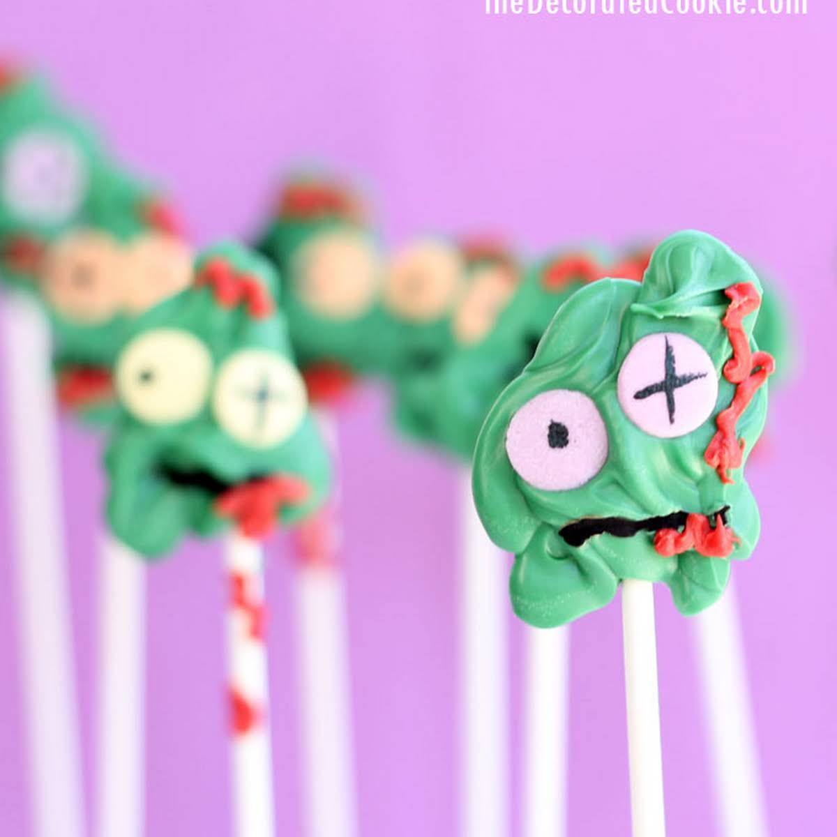 Zombie Candy Pops
