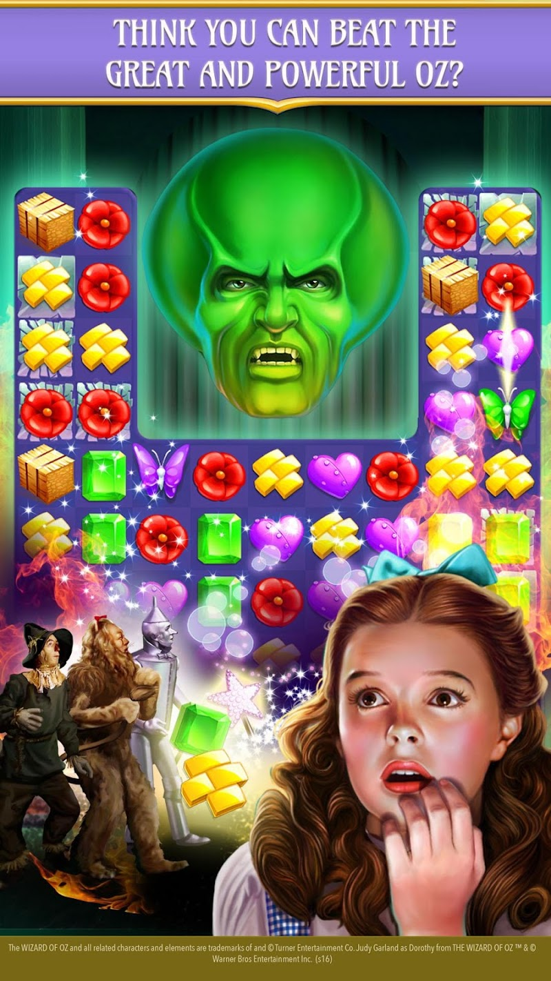 The Wizard of Oz Magic Match 3 Screenshot 12