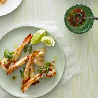 Grilled Shrimp with Chili Dressing