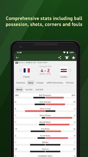 Soccer 24 - soccer live scores screenshot