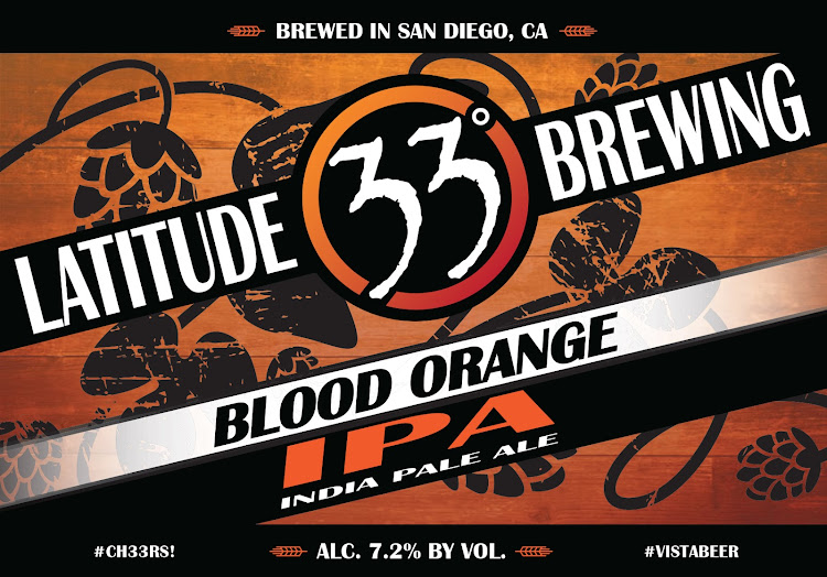 Logo of Latitude 33 Blood Orange IPA
