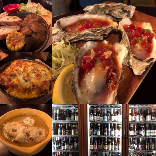 餐點偏墨西哥料理,有很多啤酒的選擇