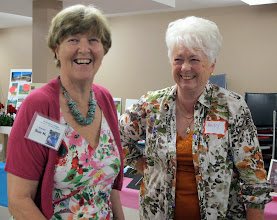Photo: Long time granny friends, Sue H and Andy