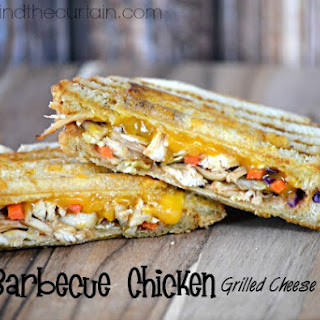 Barbecue Chicken Grilled Cheese Sandwich Recipe