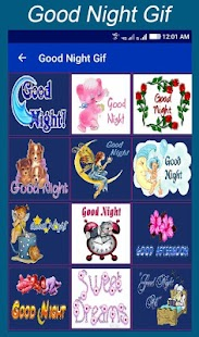 Goog Night Gif Quotes - náhled