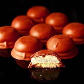 Tea Cakes by Xiufen Gu - Food & Drink Candy & Dessert ( back,  )