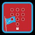 Flag Pin Lock Screen icon