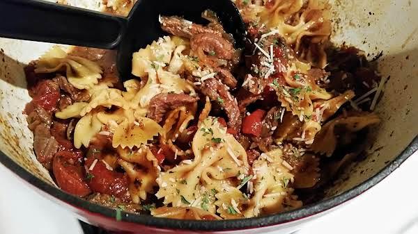 ~ Italian Beef & Pasta ~ Recipe