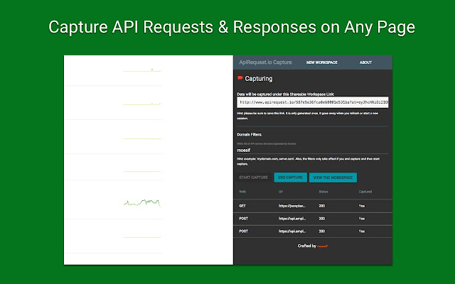 ApiRequest.io Ajax Capture Debugging Tool