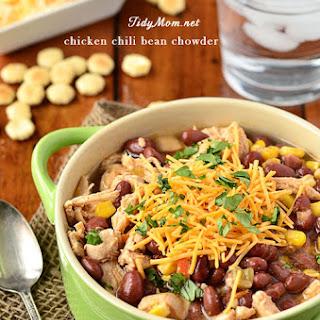 Chicken Chili Bean Chowder