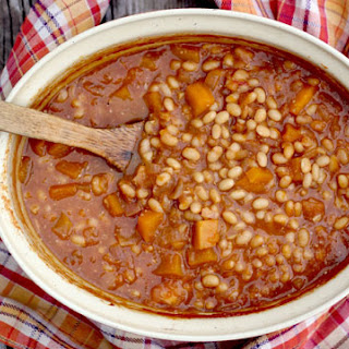 Pumpkin Apple Baked Beans