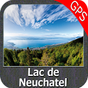 Lake Neuchatel Morat Biel GPS icon