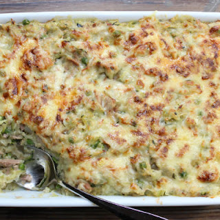Light Tuna Quinoa Bake Recipe