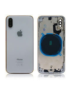 iPhone XS Housing without small parts HQ Silver
