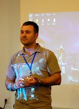 Photo: SFeraKon 2008: GoH giving a lecture