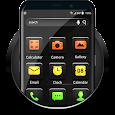 Black Shining Launcher Theme 2018 icon