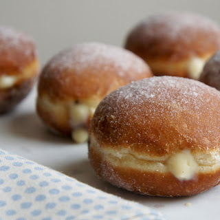 Doughnuts with Coconut Custard.