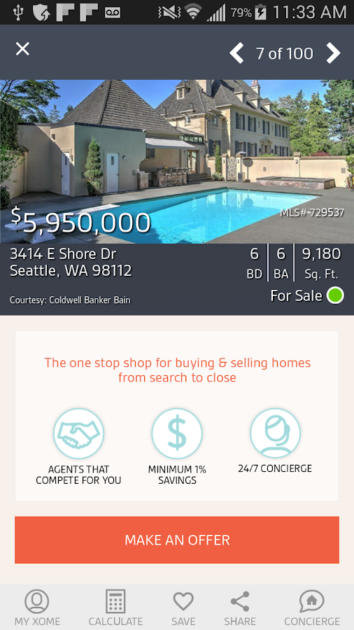 Real Estate by Xome- screenshot