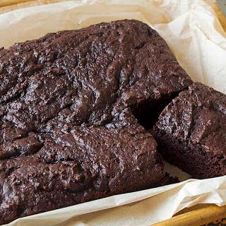Simple Dairy Free Chocolate Cake.