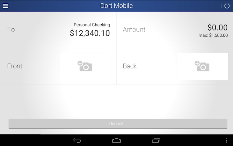 android Dort Federal Mobile Banking Screenshot 9