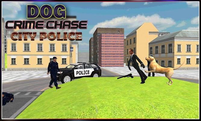Dog-crime chase City Police - screenshot