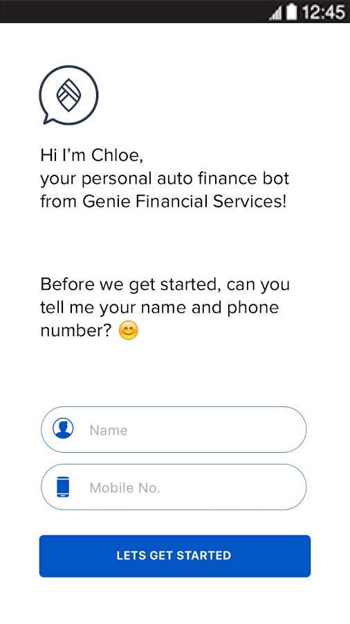 Genie Finance- screenshot